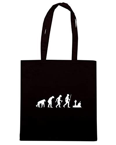 Borsa EVO0061 ZOMBIE Shopper Shirt UNDEAD EVOLUTION Speed Nera qTxOfvnCC