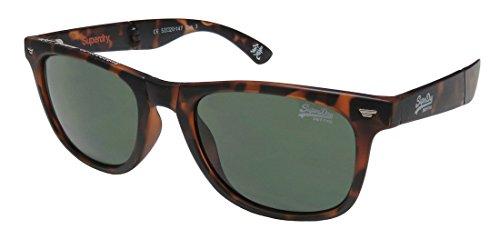 Superdry SDS Supergami 102 Matte Havana/White Folding Sunglasses - Superdry Glasses Womens