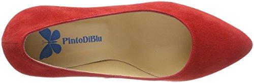 Pinto Røde Til Tip Di Ibis rød Sko 59 Med Kvinder Lukkede Blu rqr07w8Y