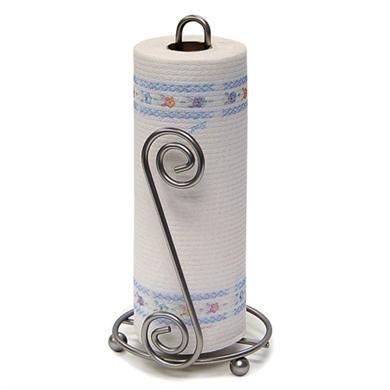 Scroll Paper Towel Holder Color: Satin Nickel ()