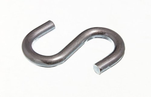 200 X S Hook Utility Kitchen Rack Hook 2 Inch 50Mm Zp Steel