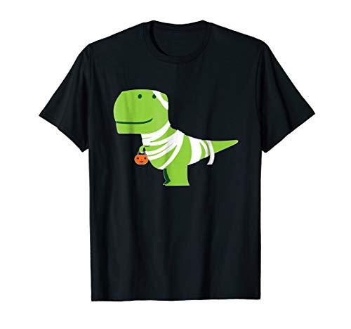 T-Rex Mummy T-Shirt Funny Dinosaur Halloween Costume -