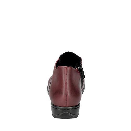 Botines Femme Rieker Rouge 57942 vinaccia 35 ZxCwwqaz