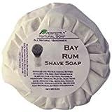 Bay Rum All Natural Artisan Shave Soap, 3 oz