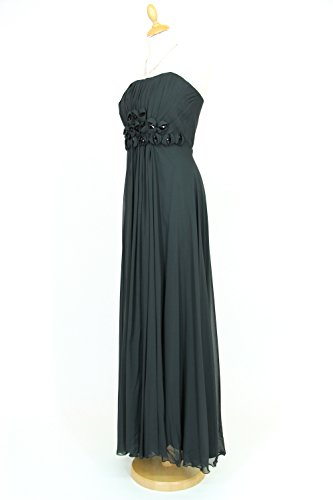 KAJ Moden - Vestido - Top corto - para mujer negro