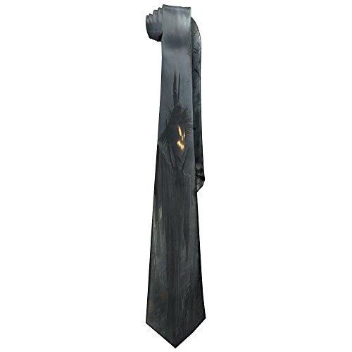 DNUPUP Men Halloween Scarecrow Polyester Silk Casual Gentleman Tie Necktie Gift (Male Gatsby Attire)