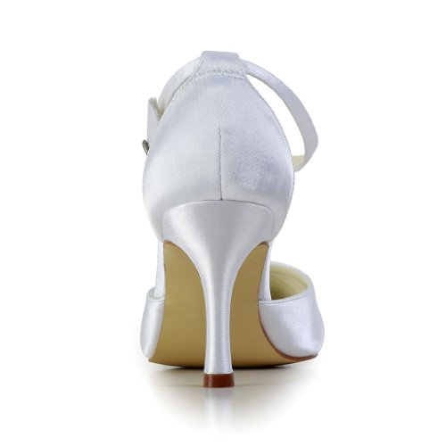 Jia De Mariée Pour Wedding Blanc Mariage A3120 Femme Chaussures Escarpins trPHtTq4W