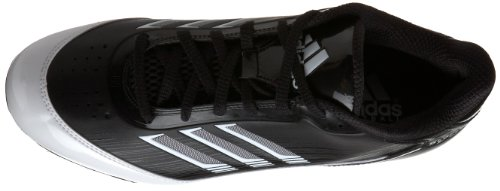 Pictures of adidas Men's Scorch X SuperFly Low Black/White/Metallic Silver 2