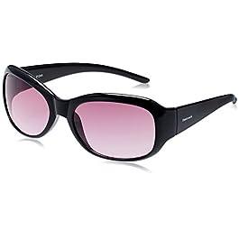 Fastrack Oval Women's Sunglasses (P186PR2F|Purple)