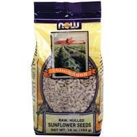 NOW Foods Real Food Raw Sunflower Seeds Unsalted -- 16 oz