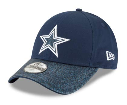 new concept 5951f f4416 Amazon.com   Dallas Cowboys New Era Shimmer Shine 2 9Forty Cap   Clothing
