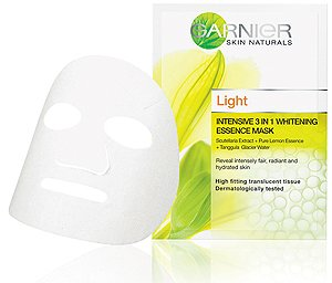 Garnier Light Intensive 3 in 1 Whitening Essence Mask 19ml Made From Thailand