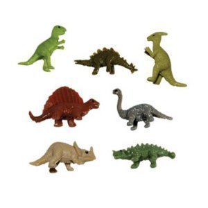 Stretchy Dinosaurs - TINY Stretchy Dinosaur Toy Figures - Pack of 50 Figures …