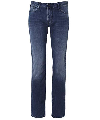 Jeans Armani Fit Uomo Denim Blu Slim J06 aIqgwHI