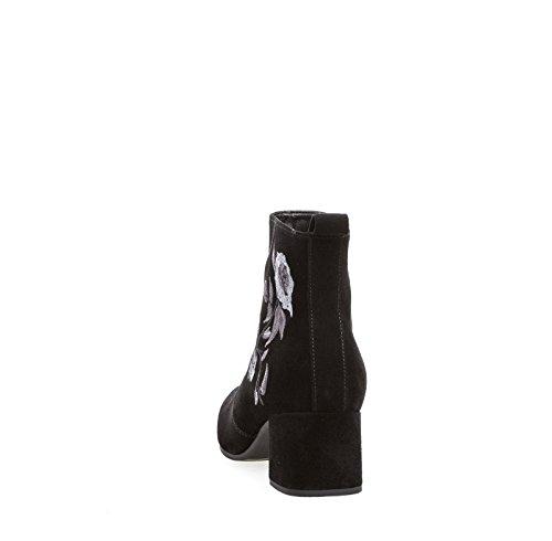 Karree aus 861 Veloursleder Form 75 Stiefelette 10 Gabor Damen Reißverschluss X05CnHqx5w