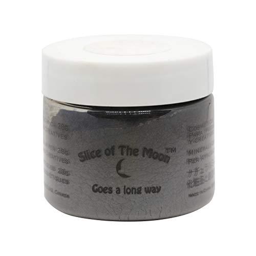 Slice of the Moon: Dark Black MicaMica Powder 1oz, Cosmetic Mica, Soap Making, Candle Making,Resin Dye, Lip Balm, Eye Liner Mica