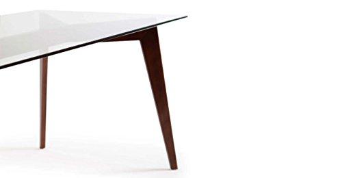 Kardiel Deco Blaze Mid Century Modern Dining Table Walnut