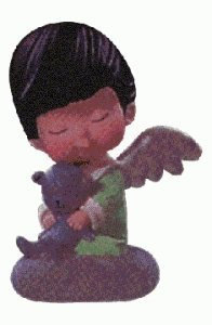 - QX6153 Mary's Angels #11 Daphne 1998 Hallmark Keepsake Ornament