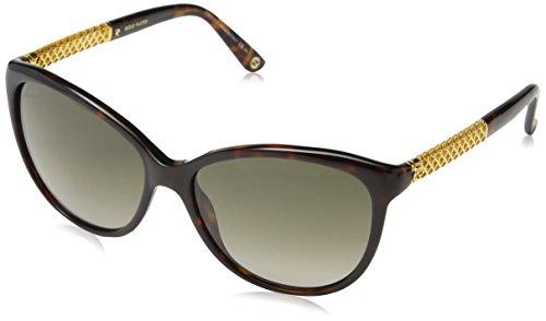 Gucci Women's GG 3692/S Havana Gold/Brown Gradient (Gucci Brille Frames Für Frauen)