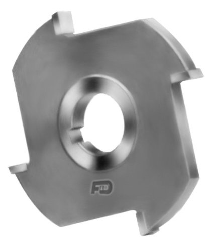 4 Number of Teeth 1 Arbor Hole 4 Diameter F/&D Tool Company 12010-AC4141 Carbide Tipped Side Milling Cutter 7//16  Width of Face Non Ferrous