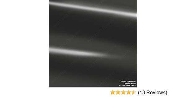Amazon Com Avery Sw900 865 O Gloss Dark Grey 1ft X 1ft 1 Sq Ft Supreme Vinyl Car Wrap Film Automotive