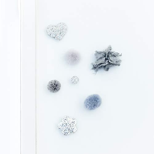 Decorative Fridge Magnet Set - 7 Magnets - Glitter Night ()