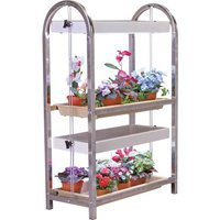 Indoor, Grow Light Stand (2 Tier) by Growers Supply Company