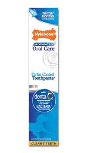 Nylabone Advanced Oral Care Tartar Control Toothpaste, 2-1/2-Ounce, My Pet Supplies