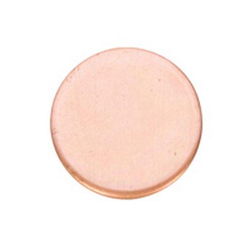 Copper Shape, Circle, 1-1/2 Inch, 6 Pieces Copper Shapes