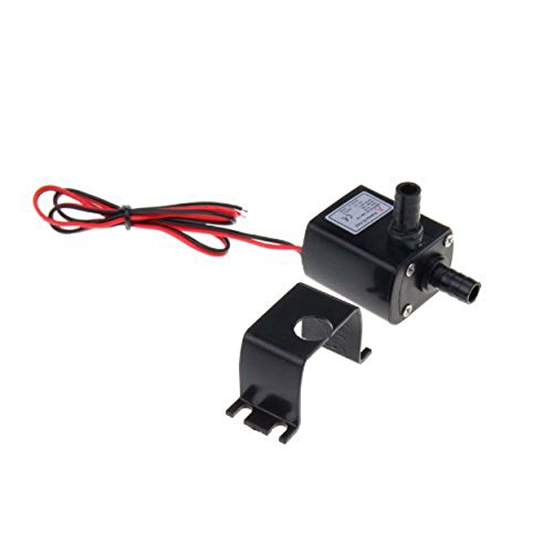 Ultra-quiet Mini DC12V Micro Brushless Water Oil Pump Submersible 240L/H 5W Lift 3M - 4