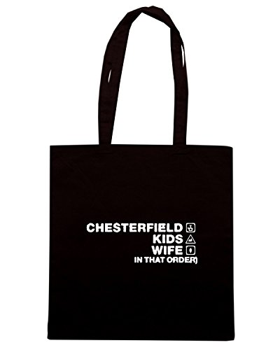 T-Shirtshock - Bolsa para la compra WC1139 chesterfield-kids-wife-order-tshirt design Negro