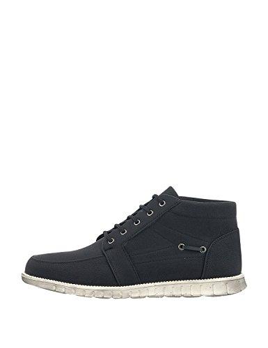 Bitter & Sweet Men's Men's Black Boots Synthetic Leather Black