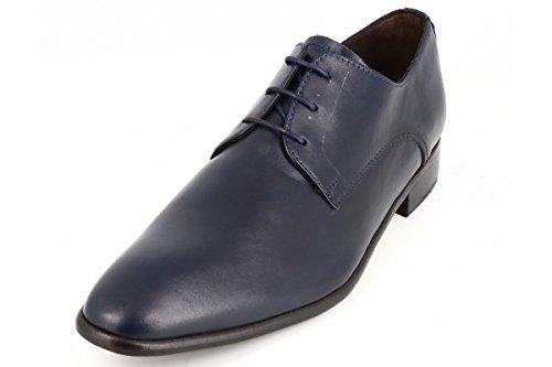 407e2c885cb belym Chaussures Hommes de Ville en Cuir Bleu Marine  Amazon.fr  Chaussures  et Sacs