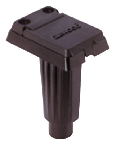 (attwood Corporation 911370-1 Plug-in Pole Light Base Square for Straight Pole)