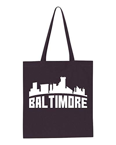 Baltimore Most Visited US Cities Tote Handbags Bags for Work School Grocery Travel (GSN) -