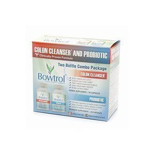 Bowtrol Probiotic & Colon Control Kit (Two Month Supply)