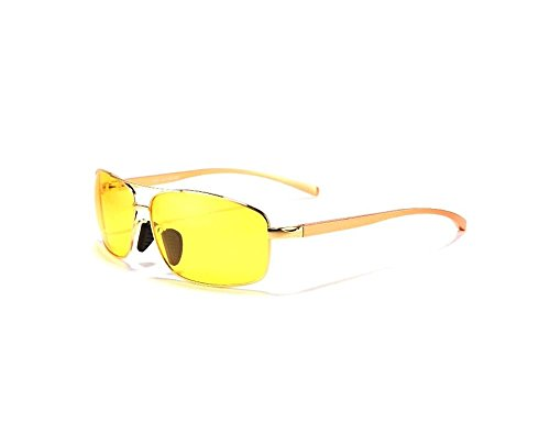 Hero Limited edition classic style sunglasses (Night Vision yellow color (special night ()