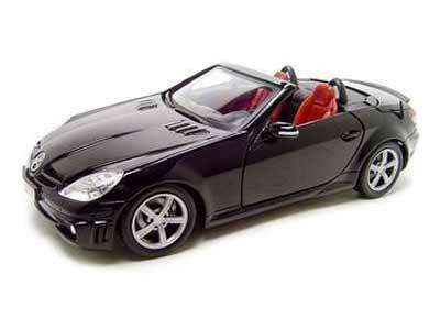 MotorMax 2005 Mercedes-Benz SLK55 AMG 1/18 Black