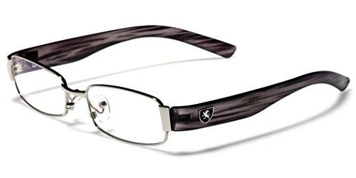 Small-Medium Size Gradient Frame Clear Lens Rx Women's Men's Optical Eye - Glasses Ete