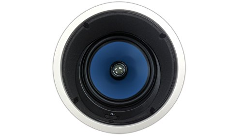82AC Silver Ticket In-Ceiling Speaker with Pivoting Tweeter & Angled Woofer (8 Inch Angled...