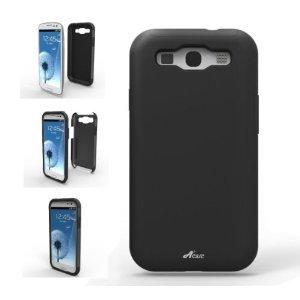 Acase ACS-01PCSLSGS3BK-AS Superleggera PRO Hybrid Case for Samsung Galaxy S III – 1 Pack – Retail Packaging – Black, Best Gadgets