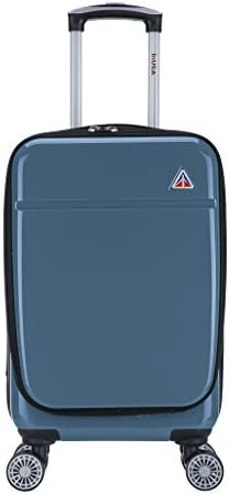 InUSA Carry-on – Luggage 20 inch Navy Blue – Collection Avila – Lightweight Hardside spinner