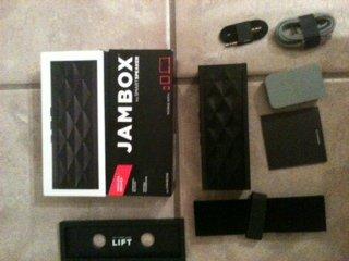 box Diamond Wireless Bluetooth Portable Speaker Black ()