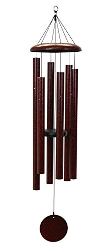 Corinthian Bells 50-inch Windchime, Ruby Splash