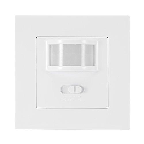 uxcell Motion Sensor Light Switch AC 110V-240V Square Energy Saving Infrared IR Sensor Switch Motion Detector Light Lamp Occupancy Sensor Switch