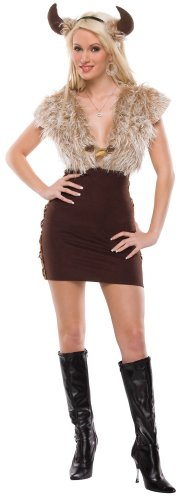 Viking Vixen Adult Costume Adult (Small/Medium) ()