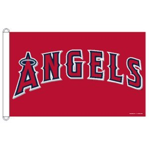 Angels Flag (MLB Los Angeles Angels of Anaheim 3-by-5 foot Flag)