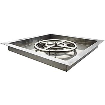 Amazon.com: Tapas MH para chimenea con quemador de acero ...