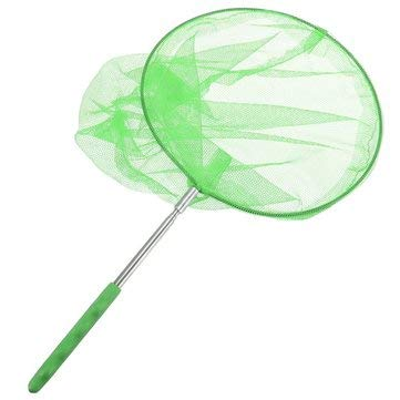 Outdoor Extendable Butterfly Net Insect Bug Fishing Nets Tools Garden Kids Child Toy - Outdoor Recreation Amusement Park - (Green) - 1 X Butterfly Net]()