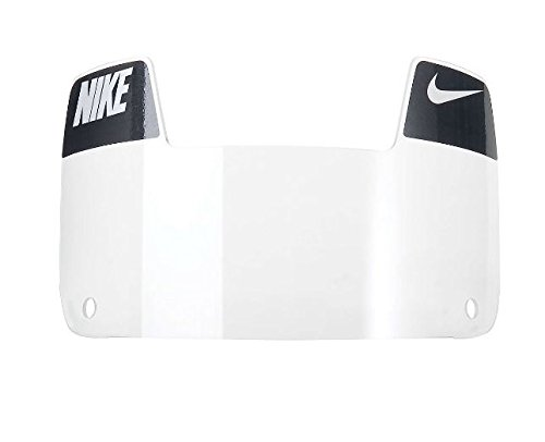 Nike Youth Gridiron Eye Shield with Decals (Clear/White/Black)